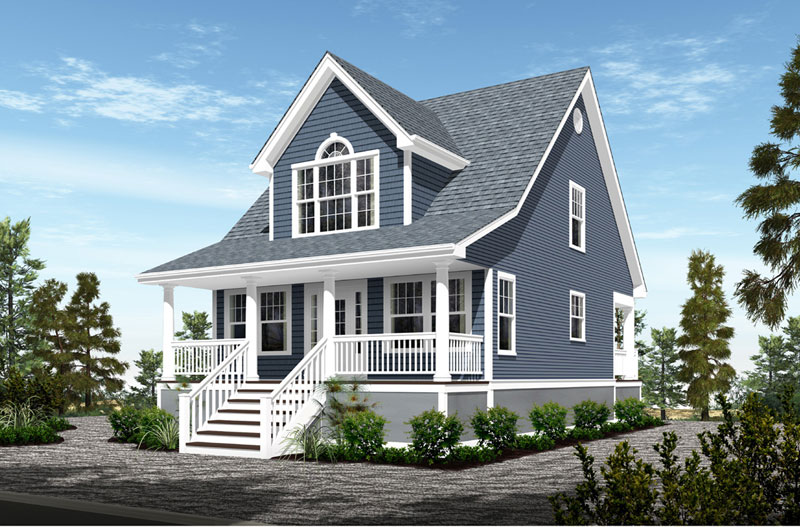 custom homes for small lots on long beach island