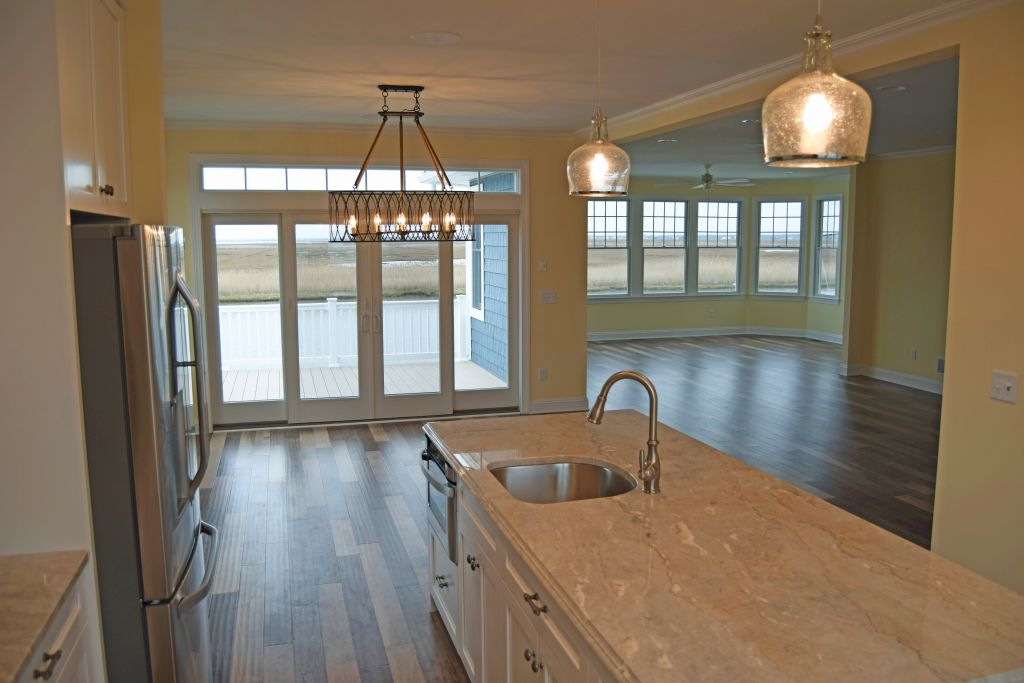 custom home on long beach island