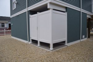 outdoor shower for beach homes Memorial Day in your new custom home on LBI
