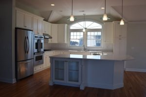 modern kitchen in a new custom home Top Five Features Men Want in a New Custom Home