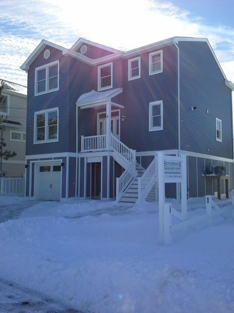 Winterizing custom home on long beach island