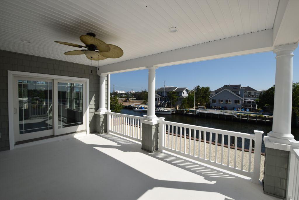 decks for new custom homes