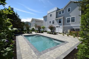 Gunite pools for custom homes on Long Beach Island
