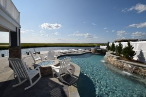 Gunite Pools for Custom Homes on LBI